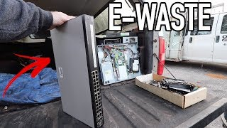 ELECTRONIC WASTE SCRAP HAUL - What Can We Make From This?