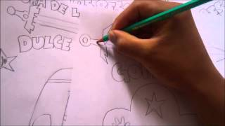 How to draw AVENTUR TIME CHARACTER GOMITA 1#BOCETO X db