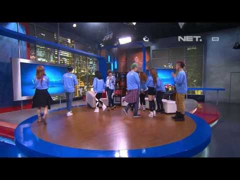I' Generation dance cover from Indonesia on Sarah Sechan talk Show 221013