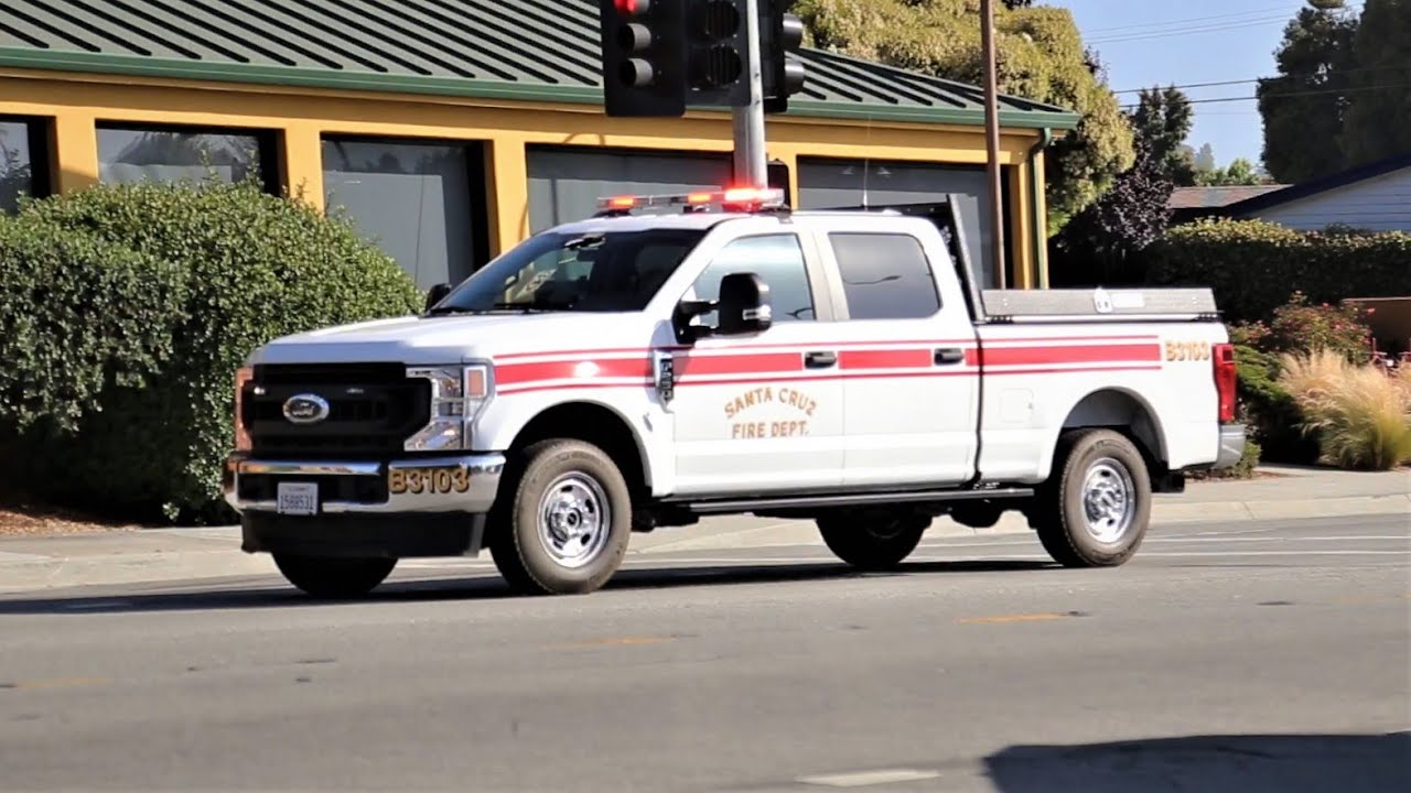 California Highway Patrol, State Parks, CAL FIRE, and Fire Trucks Responding to a Major Accident