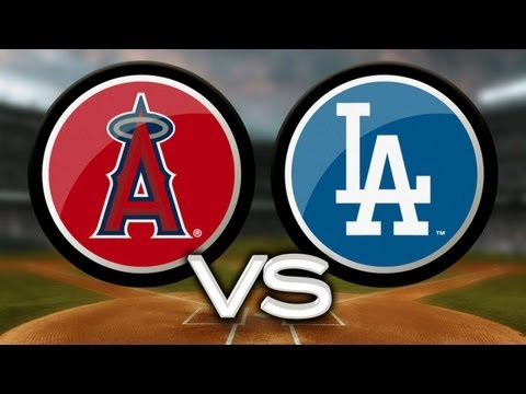 5/27/13: Adrian perfect at the dish to derail Angels