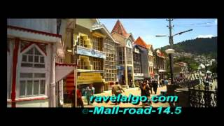 shimla mall road and ridge,lift,Scandal Point part -2