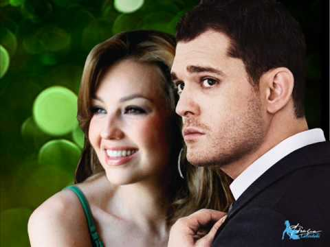 """""""Mis Deseos/Feliz Navidad"""" Michael Bublé Duet With Thalia"""