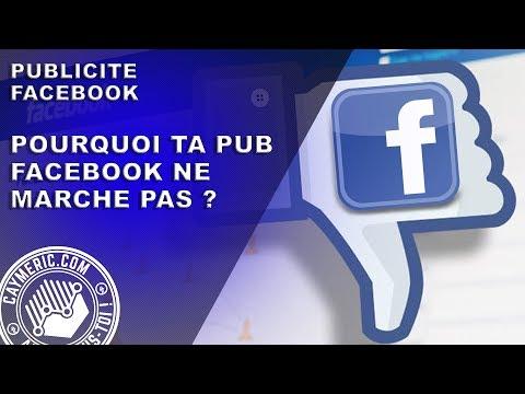 Guide Publicité Facebook | Pourquoi ta Pub ne MARCHE PAS
