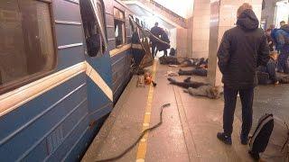 Взрыв в метро Санкт-Петербурга. Есть жертвы