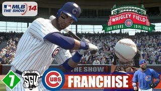 MLB 14: The Show (PS4) Chicago Cubs Franchise - EP7 (vs Reds)