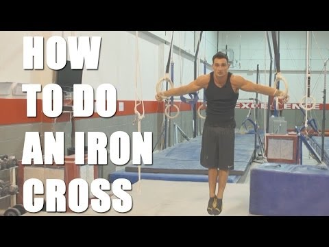Gymnast Tips: How to do the Iron Cross