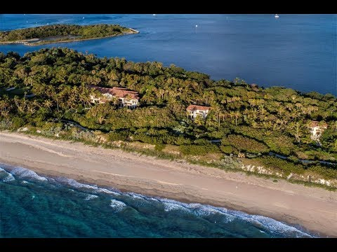 Remarkable 15 Acre Ocean-to-Lake Estate in Manalapan, Florida