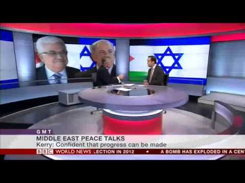 Kerry and Israeli-Palestinian negotiations. BBC World News Interview with Barak Seener, Nov 6th 2013
