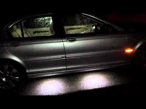 Jaguar x-type puddle lights