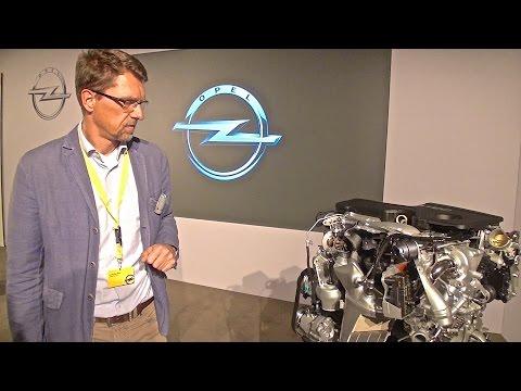 2016 Opel Astra 1.6 BiTurbo, engine story