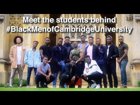 Meet the students behind #BlackMenofCambridgeUniversity