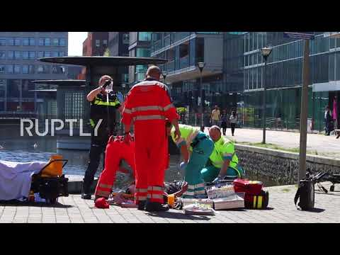 Netherlands: Police detain man after stabbing in The Hague injures three