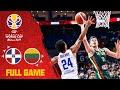 Dominican Republic couldn't end Valančiūnas & Lithuania - Full Game - FIBA Basketball World Cup 2019