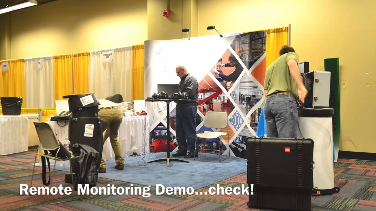 Trade Show Booth Builders : The construction of a trade show booth acentech and scup