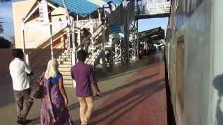 16723 Chennai Egmore-Thiruvananthapuram Central Ananthapuri express departing Kovilpatti!