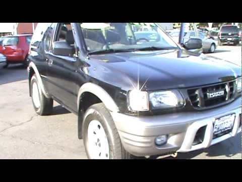 2002 Isuzu Rodeo Sport Hard Top Utility 2D SOLD