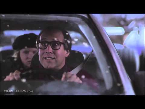 Christmas Vacation - Stuck under a truck