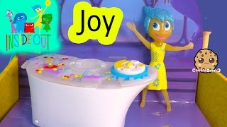 Disney Pixar Inside Out Control Console & Light Up Glow JOY Doll - Toy Unboxing Video Cookieswirlc