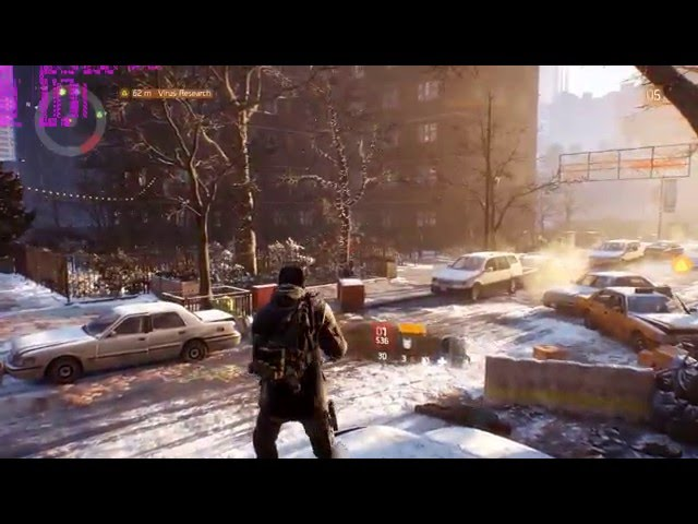 Tom Clancy's The Division Beta ULTRA TEST 1080p60fps