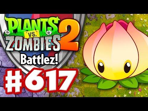 BATTLEZ! Power Lily Epic Quest! - Plants vs. Zombies 2 - Gameplay Walkthrough Part 617