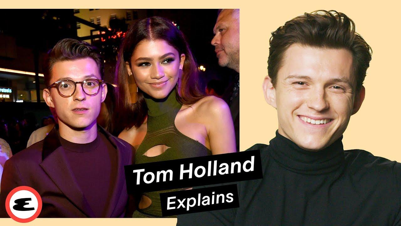 Download Tom Holland on Zendaya, Robert Pattinson & His Career   Explain This   Esquire