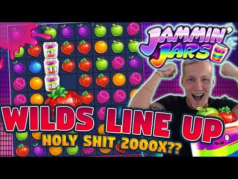 MEGA WIN!!! BIGGEST WIN?!? JAMMIN JARS BIG WIN - Huge Win on Casino Games