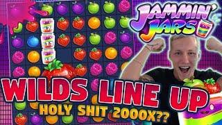 MEGA WIN!!! BIGGEST WIN?!? JAMMIN JARS BIG WIN - Huge Win on Casino Games