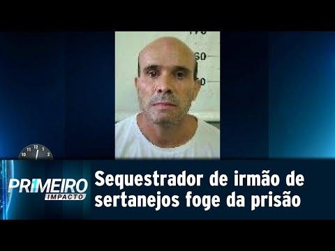 Condenado por sequestrar irmão de Zezé di Camargo foge da prisão | Primeiro Impacto (12/09/18)