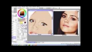 Jenna Louise Coleman Speedpaint(Unfinished)