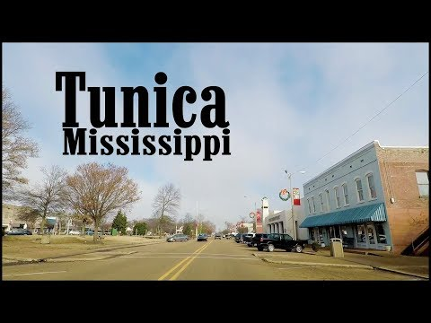 Tunica Mississippi Downtown Tour