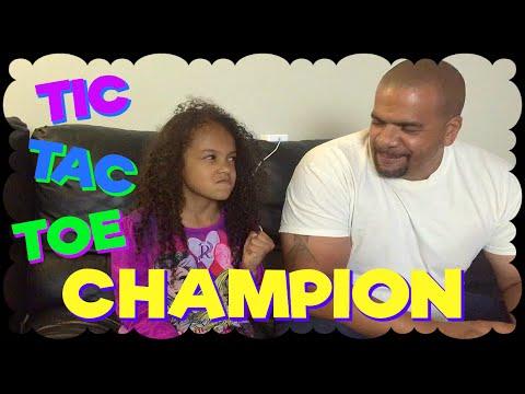 TIC TAC TOE CHAMPION ~ Family Vlog ~ Gabriella Damaris Show