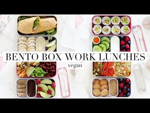 Bento Box Work Lunches #10 (Vegan) AD | JessBeautician