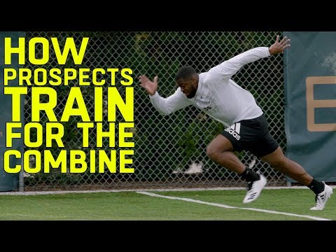 How NFL Prospects Train for the Scouting Combine