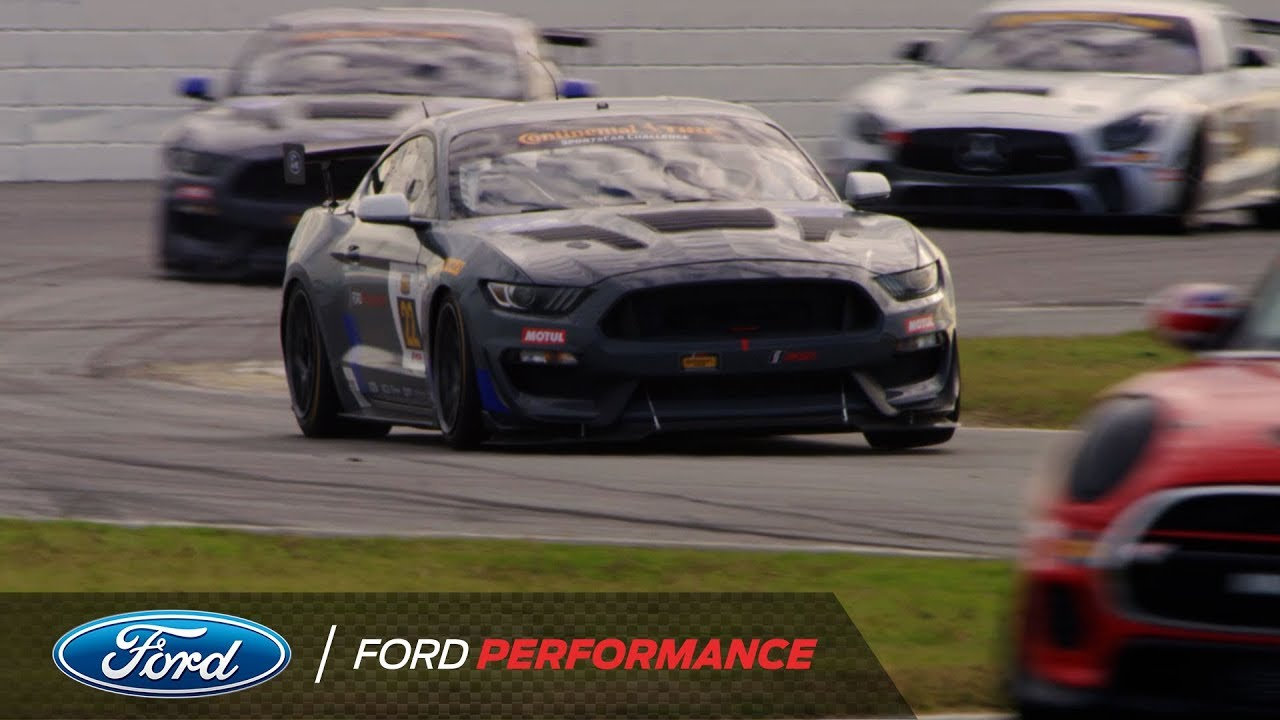 Ford Mustang Gt4 Customer Program Running For Daytona Ford