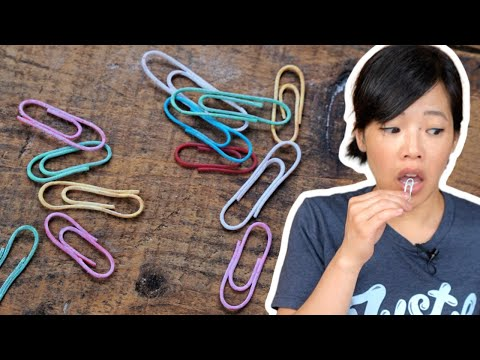 📎Edible PAPERCLIPS -
