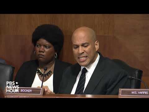 Booker leaves Kavanaugh hearing, says he can't participate in what history will see as 'dark moment'