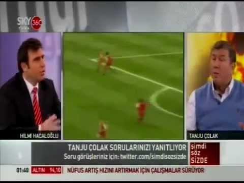 01.02.2013 tarihinde Tanju Çolak'ın Fatih Terim hakkında ki dobra açıklamaları