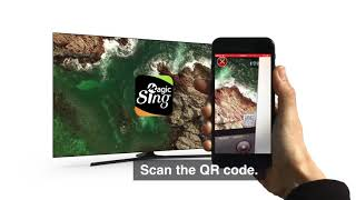 Sing the latest songs using MAGICSING APP with E5