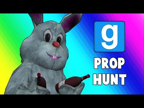 Gmod Prop Hunt Funny Moments - Copy Machine Crisis! (Garry's Mod)