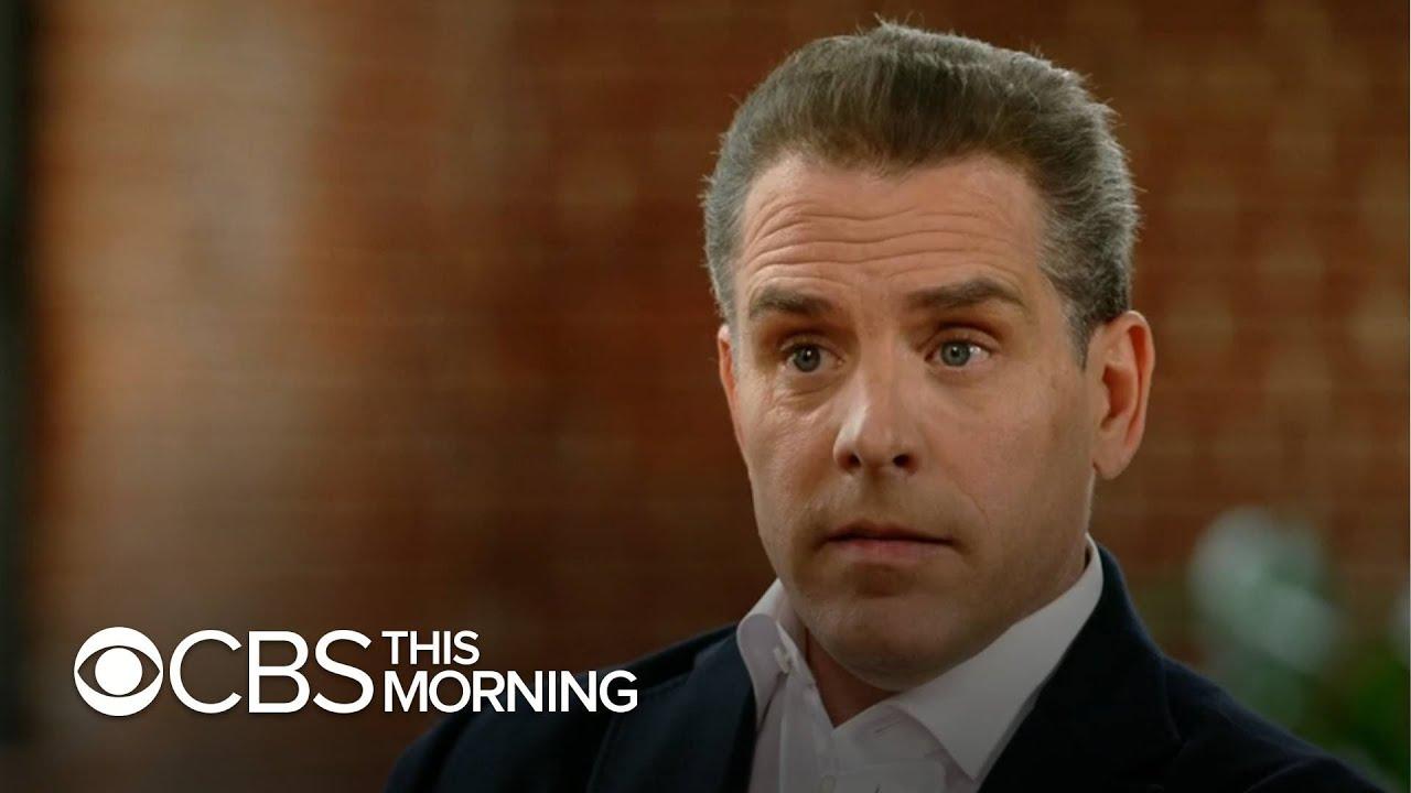 Hunter Biden addresses laptop reports, ongoing federal investigation into  his taxes - YouTube