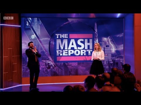 The Mash Report, Nish Kumar. Rachel Parris. Series 1 (Winter), Episode 1. BBC2. 18 Jan 2018. HD