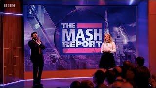 The Mash Report, Nish Kumar. Rachel Parris. Series 1 (Winter), Episode 1. BBC2. 18 Jan 2018. HD