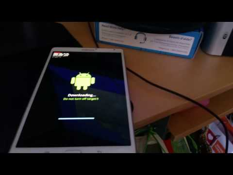 Galaxy Tab S 8.4 Lollipop update demonstration