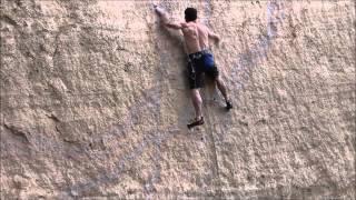 Just Do It 5.14c - Mike Doyle Attempt April 2015