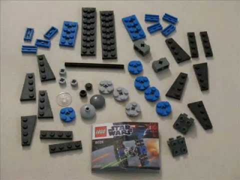 Lego Star Wars TIE Fighter Mini Set 8028 - YouTube