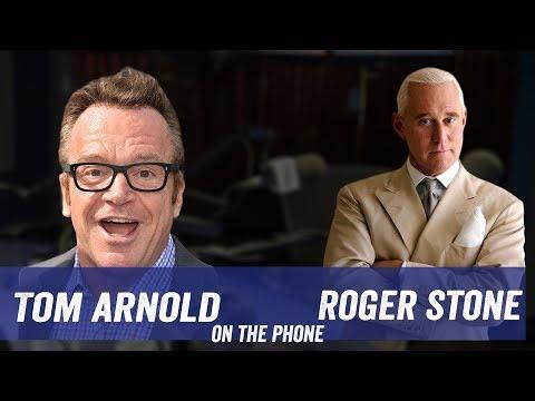 Tom Arnold Confronts Roger Stone About Leeann Tweeden Live On Jim Norton & Sam Roberts