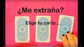 ¿ME EXTRAÑA? Elige tu carta ( tarot Interactivo) / Nut astrologia y tarot