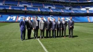 Hankook und Real Madrid - Vertragsunterzeichnung