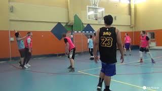 Смотреть видео PlayBasket. Видеообзор 28.01.2019 (Метро Достоевская). Любительский баскетбол в Москве онлайн